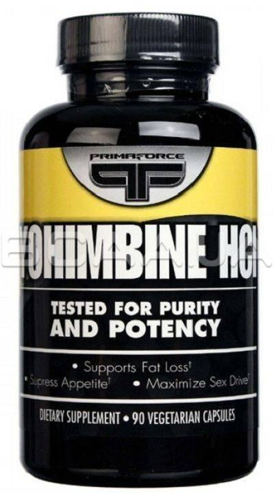 Primaforce Yohimbine HCl90 капсул