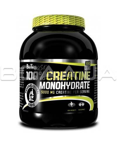 Креатин Biotech USA Nutrition 100% Creatine Monohydrate300 грамм