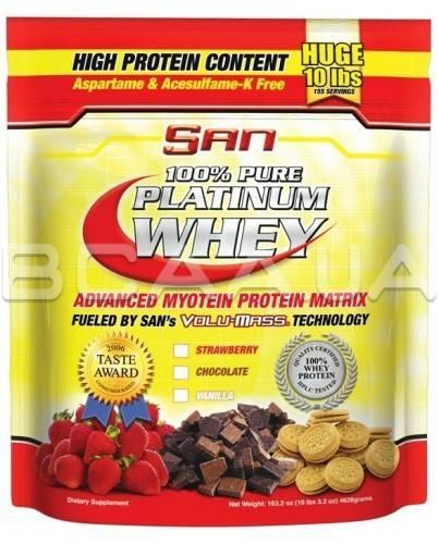 SAN 100% Pure Platinum Whey 4628 грамм