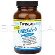 TWL OMEGA - 3 FISH OIL 1000 мг 50 капсул