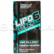 Lipo-6 Black Hers Ultra Concentrate 60 Black-Caps