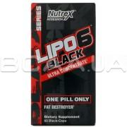 Lipo-6 Black, Ultra Concentrate, 60 Black-Caps (US)