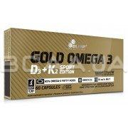 Gold Omega 3 D3+K2 Sport Edition 60 капсул