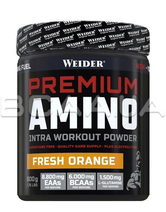 Weider Premium Amino 800 грамм Купить аминокислотный комплекс в Киеве и Украине, отзывы, цена, описание, состав – интернет-магазин BCAA.UA