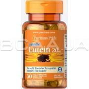 Lutein 20 mg with Zeaxanthin 30 Rapid Release Softgels