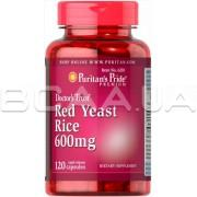Red Yeast Rice 600 mg 120 Rapid Release Capsules