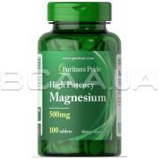 Magnesium 500 mg 100 Tablets