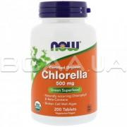 Certified Organic Chlorella 500 mg 200 Tablets
