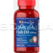 Omega-3 Fish Oil 1200 mg (360 mg Active Omega-3) 200 rapid release softgels