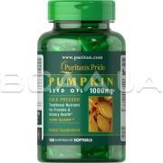 Pumpkin Seed Oil 1000 mg 100 Rapid Release Softgels