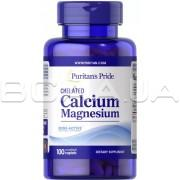 Chelated Calcium Magnesium 100 Coated Caplets
