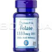Folate 1333 mcg DFE (Folic Acid 800 mcg) 250 Tablets