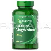 Magnesium 500 mg 250 Tablets