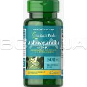 Ashwagandha Standardized Extract 500 mg 60 Rapid Release Capsules