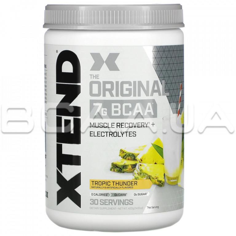 Xtend, The Original 7G BCAA, 420 g купить bcaa в Киеве и Украине, отзывы, цена, описание, состав