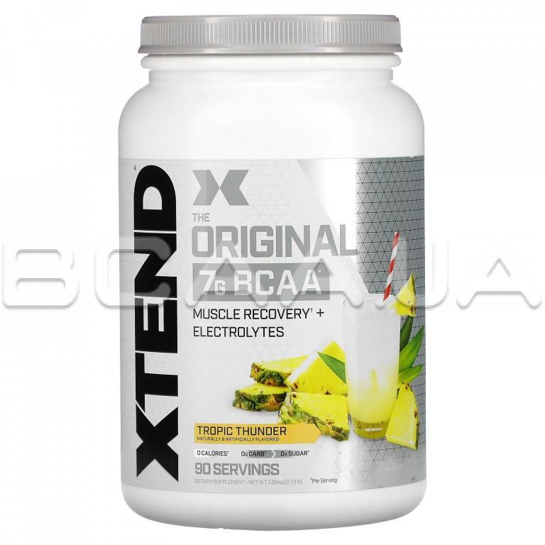 Xtend Xtend, The Original 7G BCAA, 1260 g Купить bcaa в Киеве и Украине, отзывы, цена, описание, состав – интернет-магазин BCAA.UA
